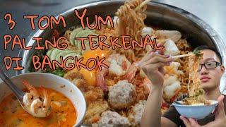 3 Tom Yum Paling Terkenal Di Bangkok, Thailand. Enak Ngak Ya? - #Vlog017