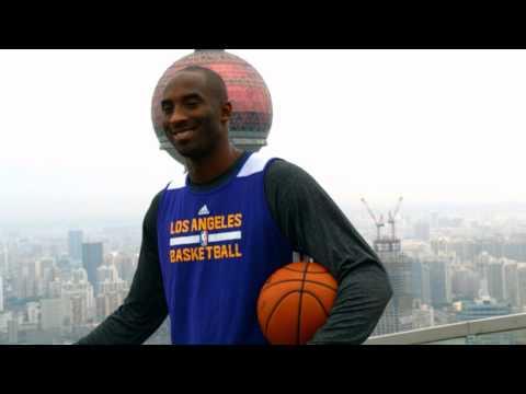 Kobe Bryant: On Top Of The World In Shanghai!