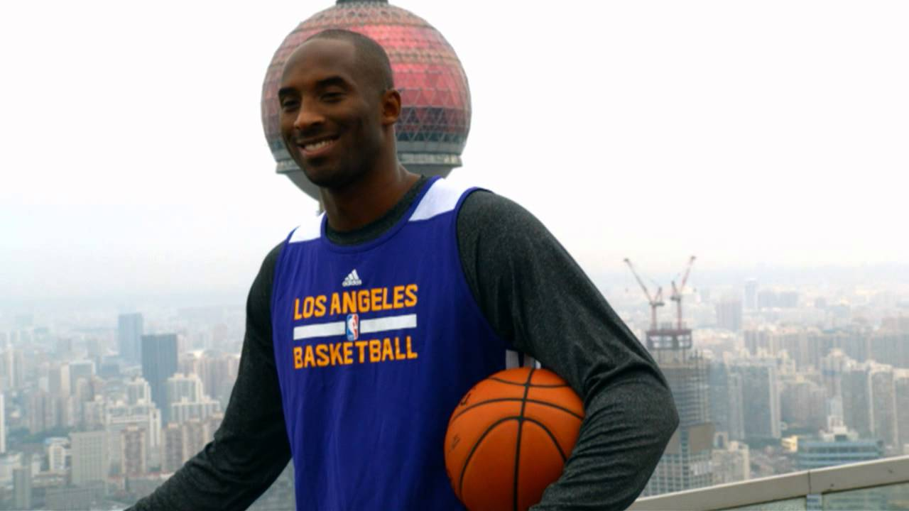 Kobe Bryant: On Top Of The World In Shanghai!