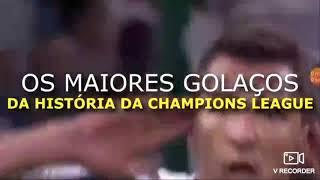 Os gols mais bonitos da champions league