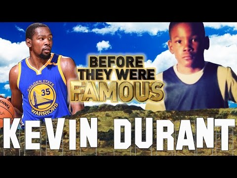 KEVIN DURANT - Before They Were Famous - Golden State Warriors