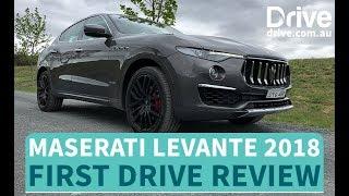 Most Affordable Maserati Ever, Maserati Levante 2018 Review | Drive.com.au