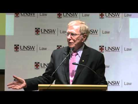 Advice to UNSW law students from the Hon. Michael Kirby AC CMG