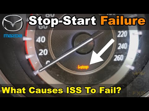 i-stop Warning Light On In Mazda – How To DIY Fix – Step By Step Instructions