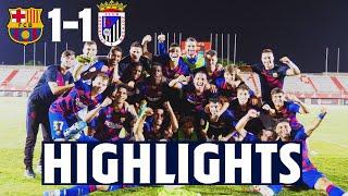 HIGHLIGHTS | Barça B defeat CD Badajoz on pens to reach play-off final!