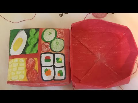 How to make a 3D Bento Box Paper Squishy!!!