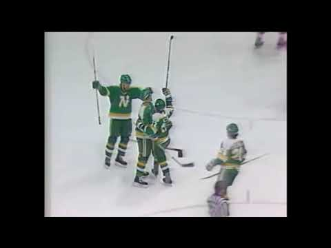 North Stars vs Red Wings (1985-86)