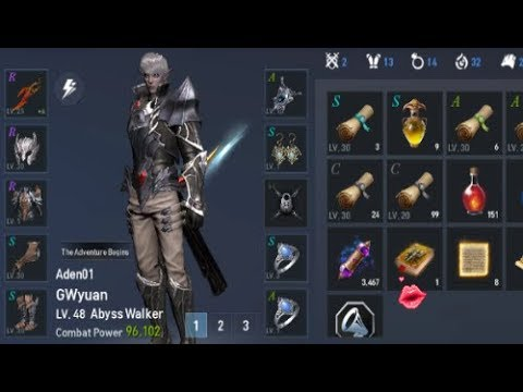 Abyss Walker | EXP Dungeon | Lineage 2 Revolution ( EN ) | 리니지2레볼루션 |  Android Gameplay