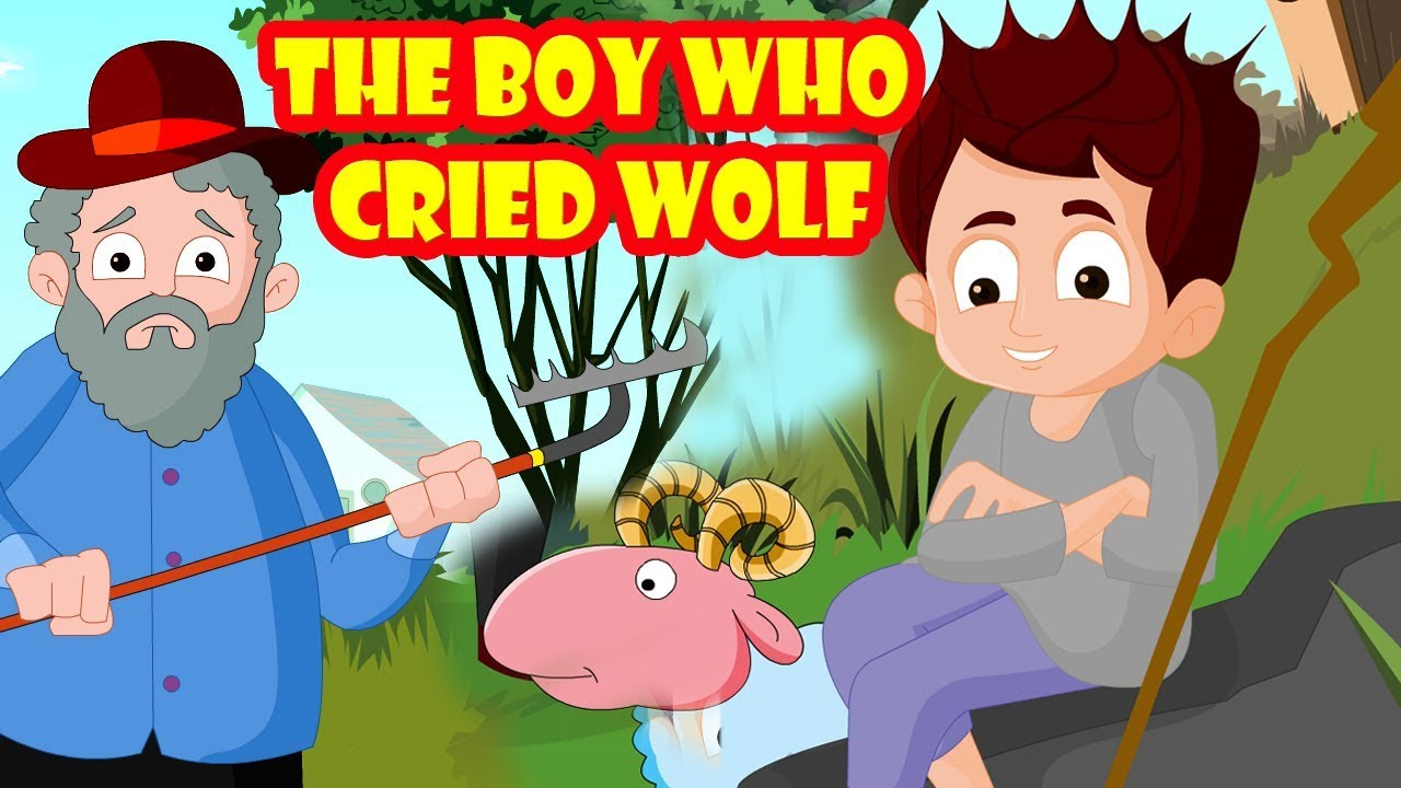 The Boy Who Cried Wolf | Animated Bedtime Stories for Kids