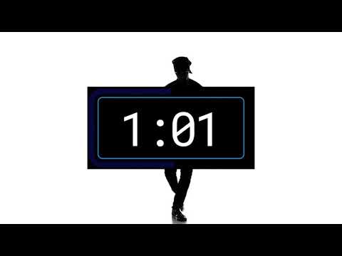 2 Minute Timer - Countdown with Trap music and dancer