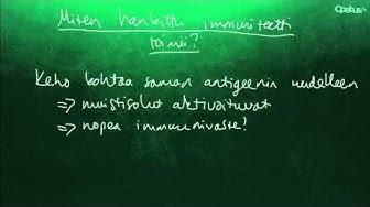 Immuniteetti ja rokotukset