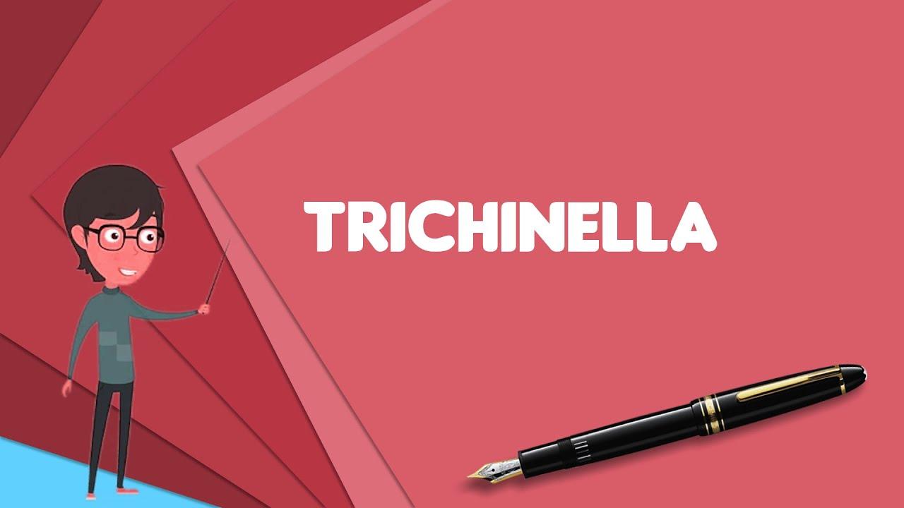 trichinosis szín