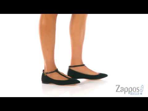a1c69209075 Giày Mommy Tory Burch Ashton T-Strap Flat - YouTube