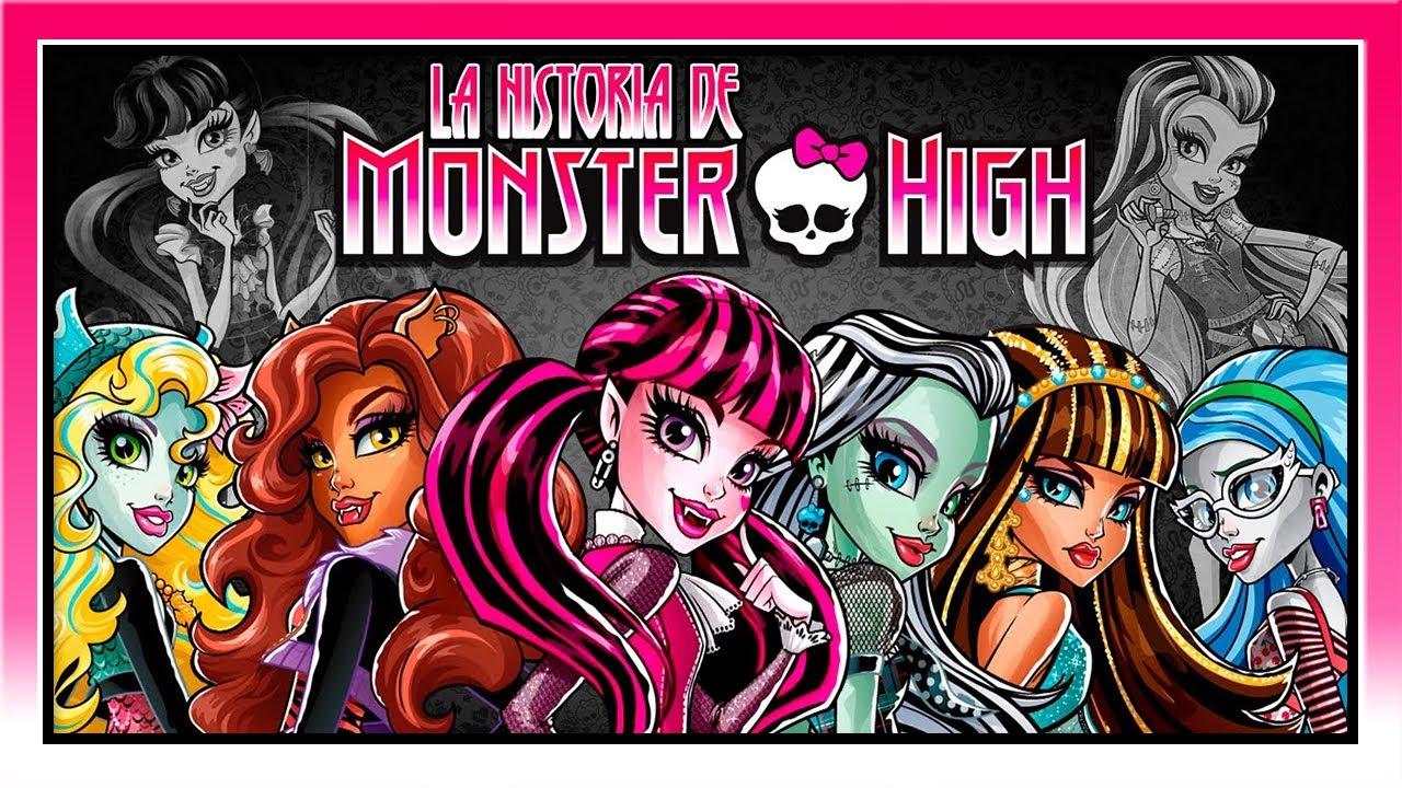 La historia de Monster High  Especial MONSTER HIGH  YouTube
