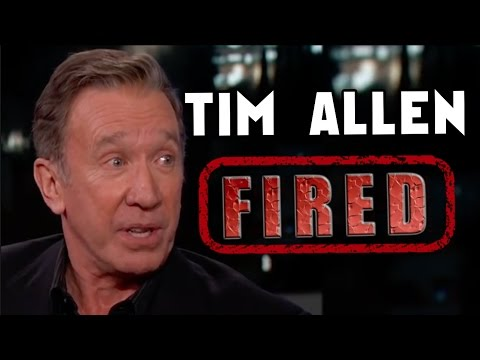 Tim Allen Fired by ABC for Exposing Hollywood