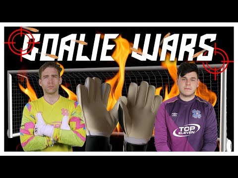 GOALIE WARS! UNITED vs ACADEMY KEEPERS!