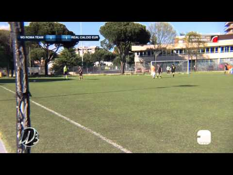 W3 Roma Team 5-1 Real Calcio Eur | Seconda Categoria - 26ª | Highlights