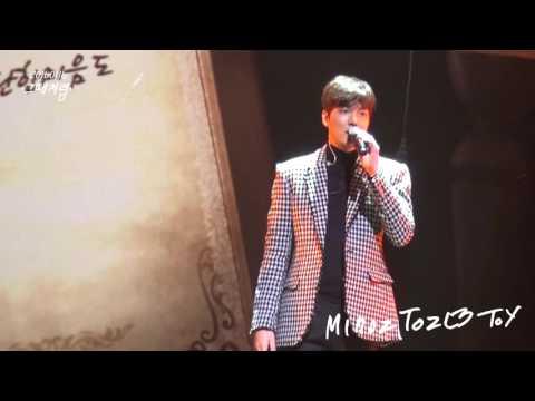[직캠]160116LeeMinHo 1st Talk Concert'그때처럼'by.MinozToz