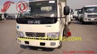 DongFeng 3CBM Road Sweeper Truck