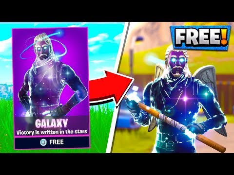 free galaxy skin how to unlock galaxy skin fortnite battle royale - youtube