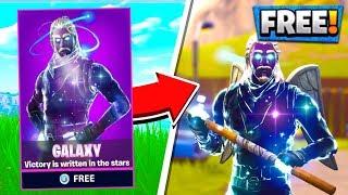 FREE GALAXY SKIN! How to Unlock Galaxy Skin Fortnite Battle Royale!
