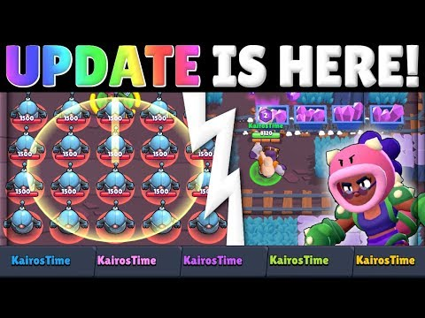 Brawl Stars Update! | Mine Carts in Gem Grab! | Balance Changes! | Color Your Name! | Training Cave!