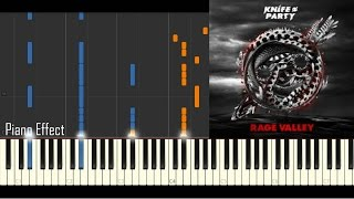 Knife Party Rage Valley Piano Tutorial Synthesia
