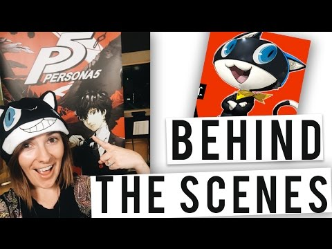 Persona 5 | Behind the Scenes with Morgana's Voice Actor!