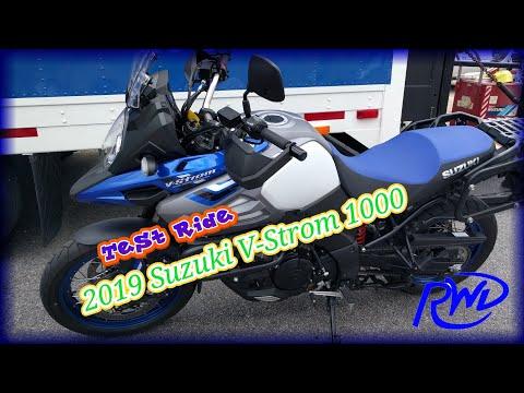 Test Ride: 2019 Suzuki V-Strom 1000