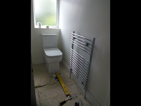 DIY: How to install a towel radiator