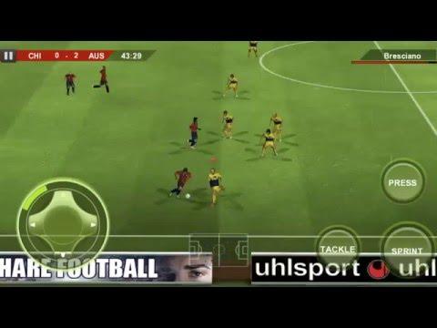 FOOTBALL CHILE VS AUSTRALIA MATCH FIFA
