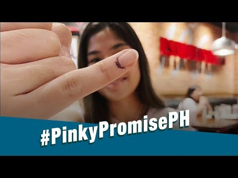 Stand for Truth: #PinkyPromisePH, nilahukan ng kabataan at ng ilang personalidad!