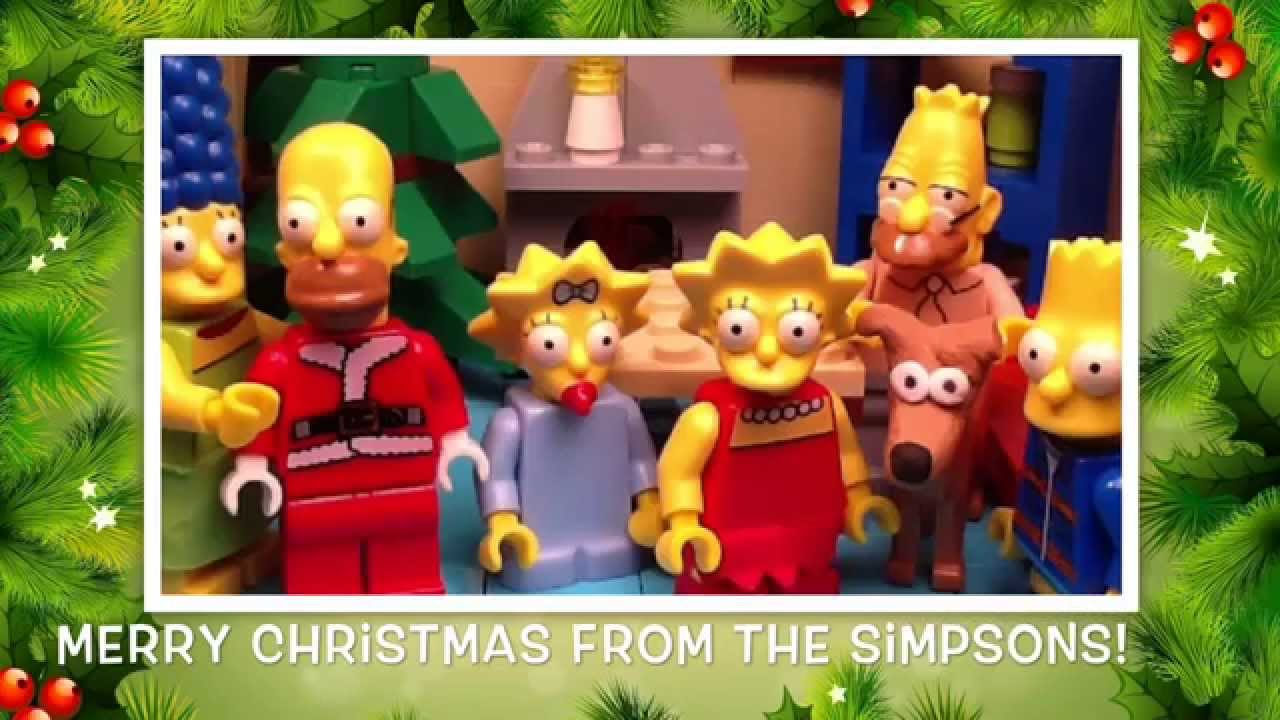 Lego Simpsons Shorts Episode 5: We Wish You A Simpson Christmas ...