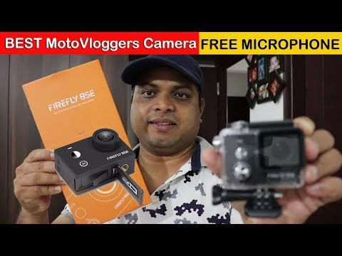 Firefly 8SE Review - Best Action Cam for Motovloggers