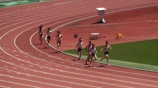 2017静岡県高校総体 女子800m 予選4組