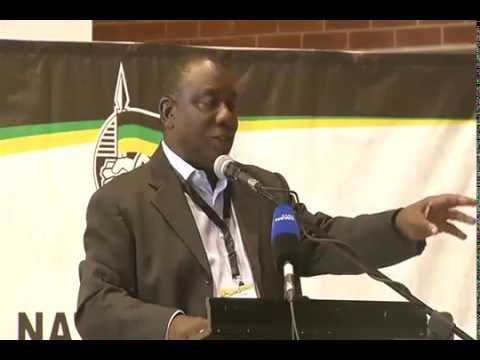 Ramaphosa's address at the Provincial Local Government Summit