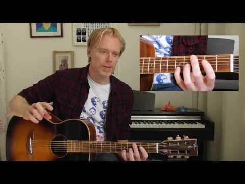 Pinegrove 'Old Friends' - Guitar Lesson