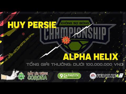 Giải đấu Không Sợ Bóng Fifa Online 4   Huy Persie vs Alpha Helix - Bán kết 1