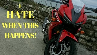 Top 5 Things I HATE about my CBR500R!