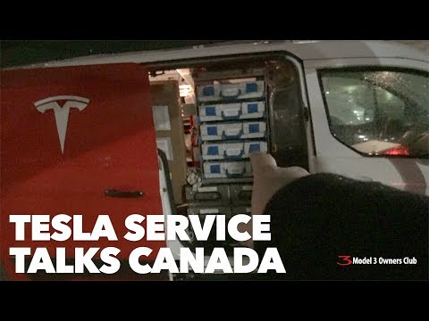 Tesla Service Talks Canada