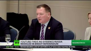 No Russian interference in Brexit referendum - YouTube exec