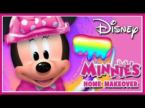 Minnie Mouse Game Episodes - Minnie's Home Makeover - Disney Kids iPad Games