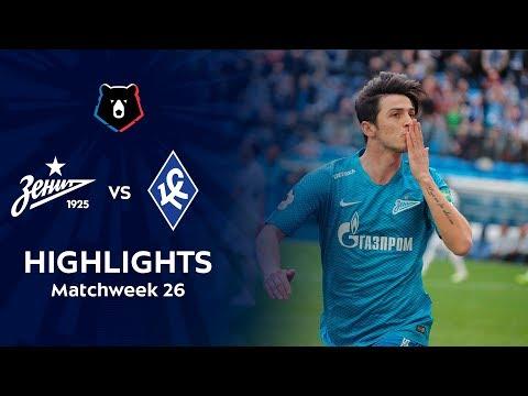 Highlights Zenit Vs Krylia Sovetov (4-2)