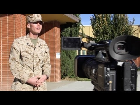 Fake Marine Caught Lying On Camera - Phony Marine Craig Pusley
