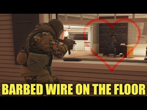 Barbed Wire On The Floor - A Rainbow Six Siege Short Film
