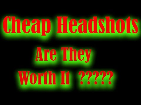 Cheap Headshots Are They Worth It? - visit NickGregan com