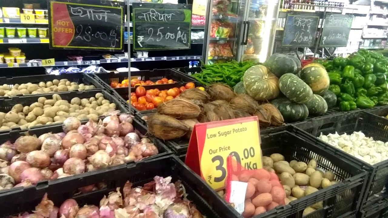 Super duper vegetable in reliance fresh - YouTube