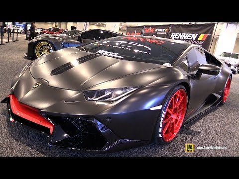 2016 Lamborghini Huracan IMS Automotive Design Customized - Walkaround - 2017 NY Auto Show