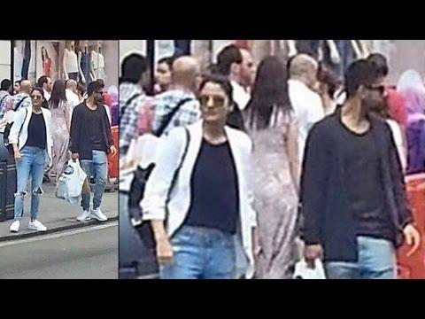 Virat Kohli carrying Anushka's shopping bags, lovebirds spotted in London | Oneindia News
