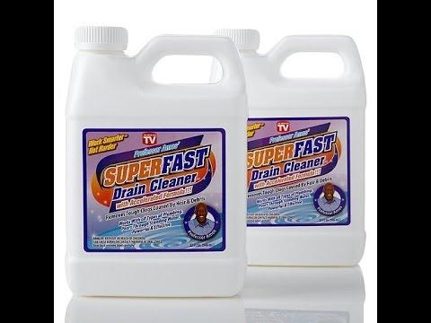 32 fl. oz. SuperFast Drain Cleaner 2pack